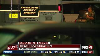 Charlotte County death investigation - Video