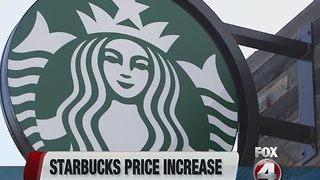Starbucks raising prices - Video