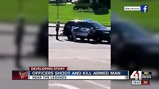 Police exchange gunfire with, kill suspect in KCK