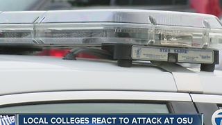 Local colleges react to attack at OSU - Video