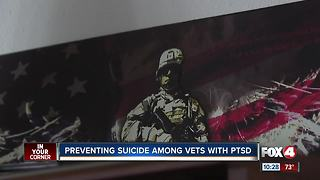 Camo Alert could save veterans from suicides - Video