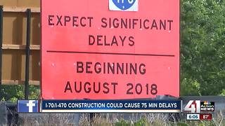 I-470 project expected to cause major traffic delays - Video