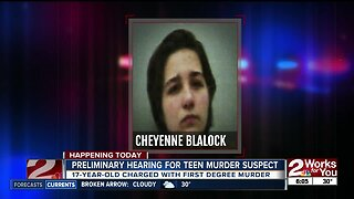 Preliminary hearing for teen murder suspect: 17-year-old charged with first degree murder