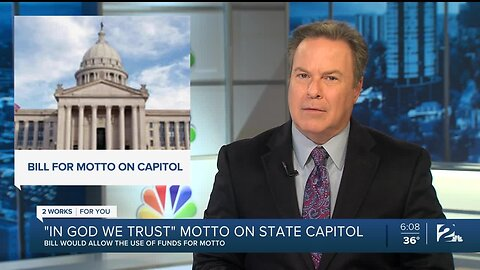 Senate Passes Bill to Display 'In God We Trust' in State Capitol
