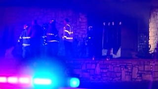 2 hospitalized after Pawnee building fire - Video