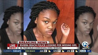 Riviera Beach teen missing since Tuesday morning