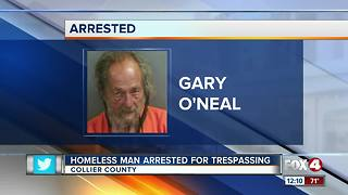 Homeless Man Arrested for Trespassing on Preschool - Video