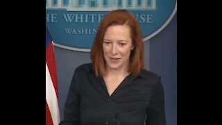 "Watch Psaki's Snobby Response When Asked About Biden's ""Neanderthal"" Comment"