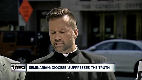 'The Diocese of Buffalo suppresses the truth in relation to sexual abuse,' seminarian says