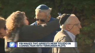 Man accused of plotting large-scale attack at Ohio synagogue