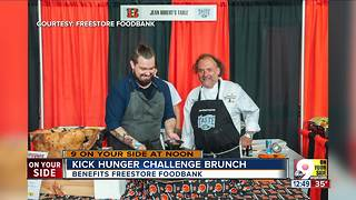 Kick Hunger Challenge brunch - Video