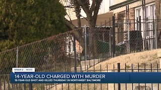 14-year-old charged with murder