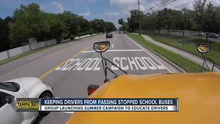 Pinellas County to track drivers and top locations where people pass stopped school buses | Driving Tampa Bay Forward - Video
