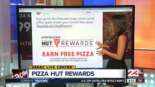 Pizza Hut's new Hut Rewards - Video