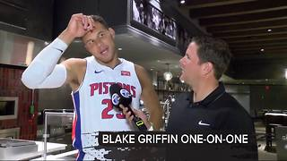 One-on-one with Pistons star Blake Griffin