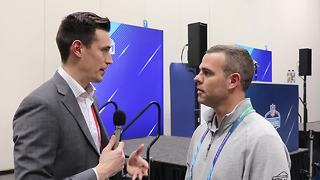 Bills GM Brandon Beane with 7ABC's Joe Buscaglia at the 2018 NFL Combine - Video