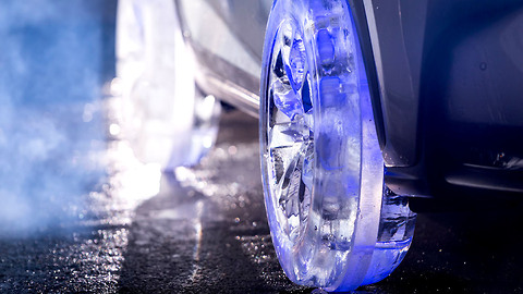 Ice Tyres: Lexus Designs Impressive Wheels Made Out Of Frozen Water