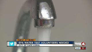 Cape Coral testing drinking water - Video