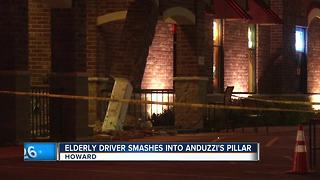 Elderly driver smashes into Anduzzi's pillar in Howard - Video