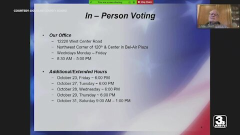 Douglas Co. deadlines for mail-in ballots, registration