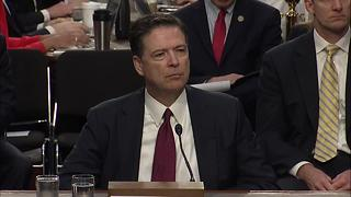 Full hearing: James Comey testifies to Senate intel committee regarding Russia-Trump - Video