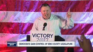 Erie County Dems retake legislature - Video