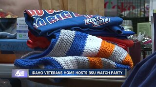 Idaho State Veterans Home hosts BSU party