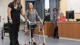 Paralysed patients able to walk again thanks to unprecedented medical breakthrough - Video