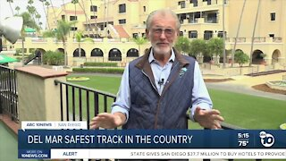 Del Mar named safest track in the country