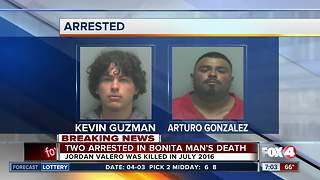 Two charged in 2016 murder of Jordan Valero - Video