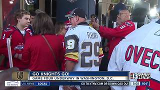 Fans are excited about Game 4 in Washington, D.C. - Video