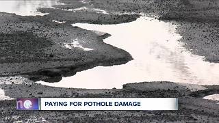 How to get your money back for pothole damage - Video