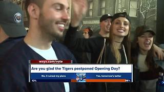 Detroit Tigers Opening Day postponed, rescheduled for Friday afternoon
