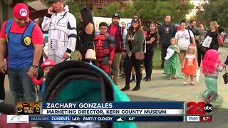 Local families celebrate Halloween - Video