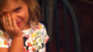 Adorable Little Girl Doesn't Want To Do Her Homework - Video