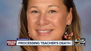 Family and friends grieving Valley teacher's death - Video