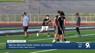 Mica Mountain starts football amid pandemic