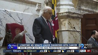 Md. Senate Leader Mike Miller diagnosed with cancer