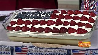 American Flag Tres Leches Cake with Cakes for Causes - Video