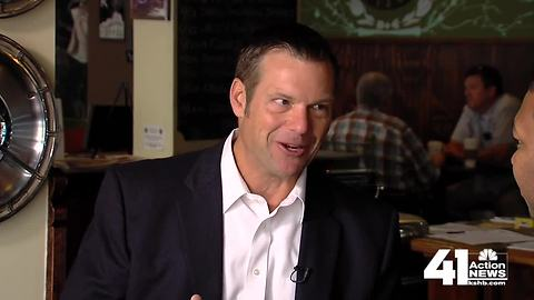 From water skiing to debate, Kris Kobach hopes to win voters over for KS gov