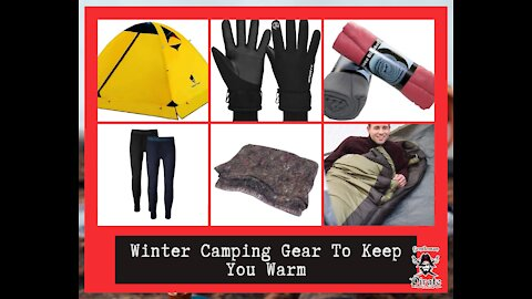 Winter Camping Gear To Keep You Warm