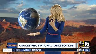 $10 gets you into national parks for life - Video