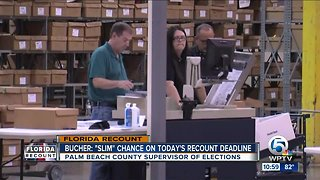 Palm Beach County may not make deadline in election recount - Video