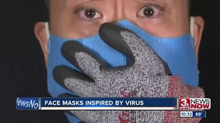 Face Masks Inspired by Virus
