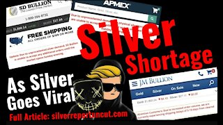 Wall Street Bets Silver Stampede Leaves National Physical Silver Shortage, Dealers Halt Orders