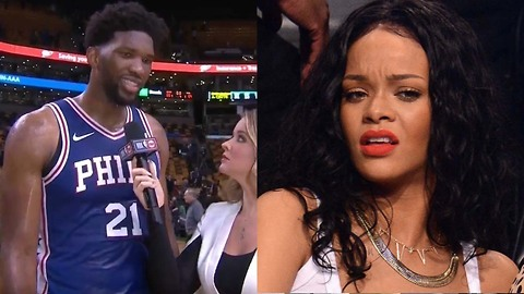 Joel Embiid Straight DISSES Rihanna Now That He's an All Star