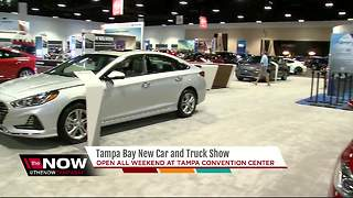 Tampa Bay New Car & Truck Show - Video