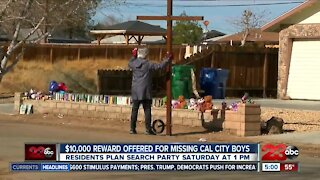 $10,000 reward offered for missing California City boys