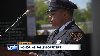 Honoring fallen officers - Video