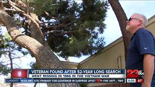 Local veteran found after 52-year long search